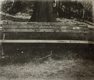Kurt Cobain Bench Seattle
