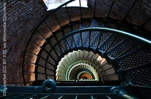 Currituk Lighthouse Stairs