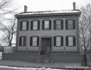 Abraham Lincoln home Springfield